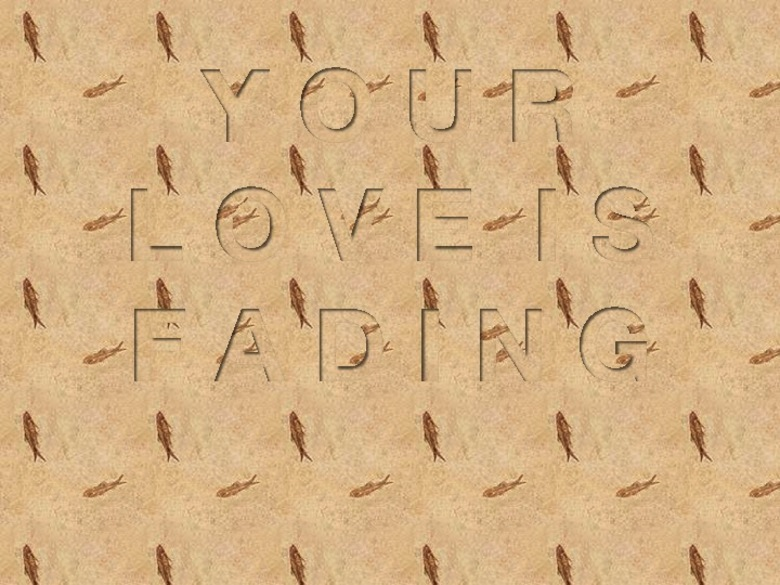 40. YOUR LOVE IS FADING (SEASIDE), 2014 AGS.ppsx