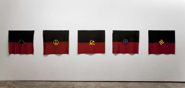 installation view: Archie Moore - Flag