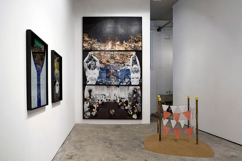 THREE/THREE installation view 1