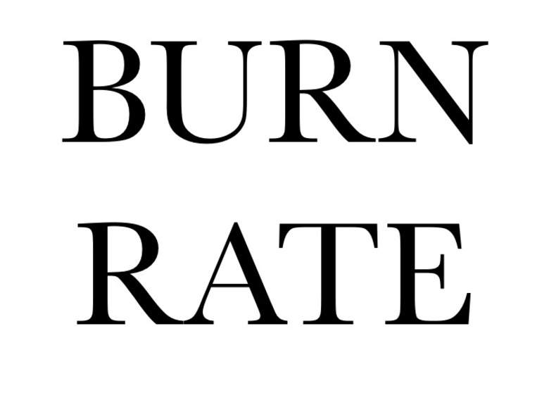 36. BURN RATE, 2014 AGS