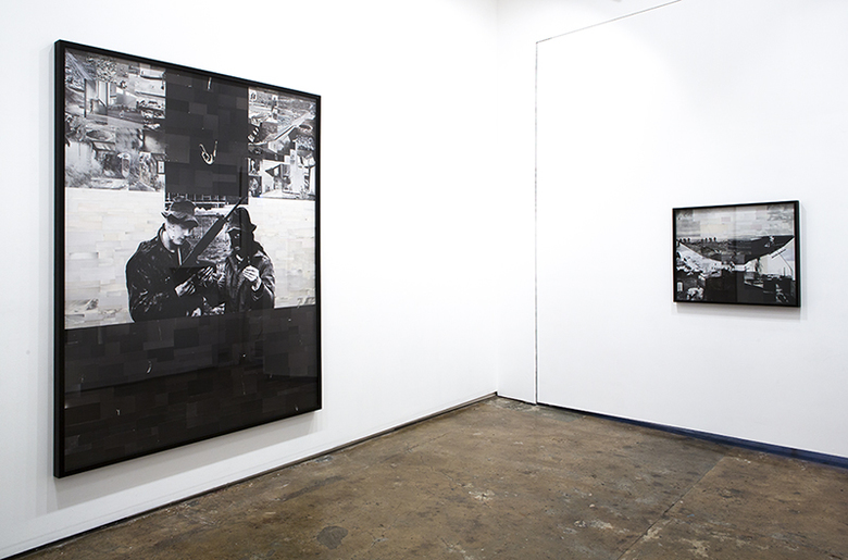 installation view: Lillian O'Neil - Pause before the fall, 2015 | at The Commercial Gallery, Sydney