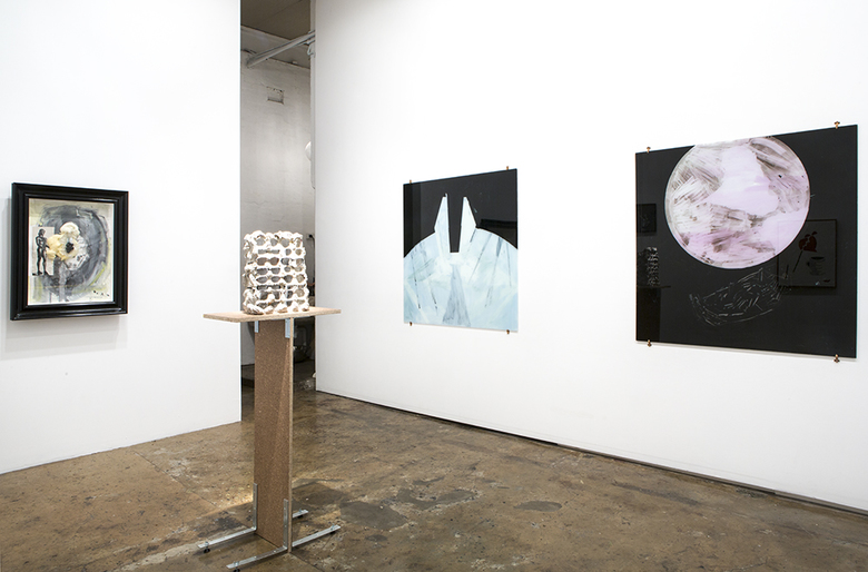 installation view: TPOLR - Cairns, Gothe-Snape, Milledge, Pulie, Teague, The Commercial Gallery, Sydney
