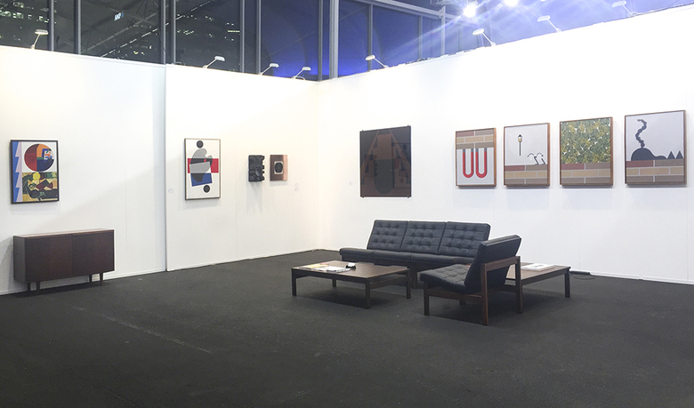 installation view: The Commercial - Auckland Art Fair 2016 | Group show (A5) | The Cloud, Auckland