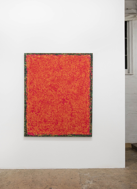 installation view: Crusted Heat, 2017 | at The Commercial Gallery, Sydney