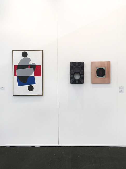 installation view: Auckland Art Fair 2016 | Group show (A5) | The Cloud, Auckland
