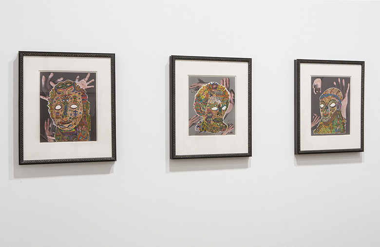 installation view: Emily Hunt - Doctrine of Eternal Recurrence, 2014 | at The Commercial Gallery, Sydney