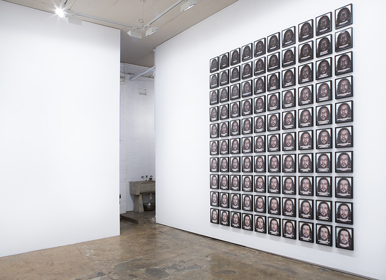 installation view: Archie Moore - Blood Fraction, 2015 | at The Commercial Gallery, Sydney