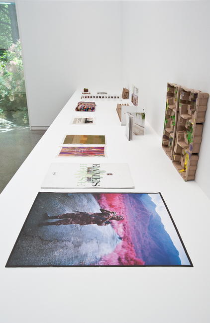 installation view: Narelle Jubelin - Future Primative, 2013 at Heide Museum of Modern Art, Melbourne