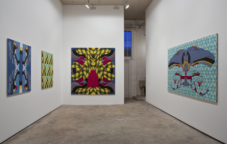 Natalya Hughes Looking Twice installation view