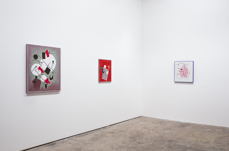 installation view: Gunter Christmann, 2014 | at The Commercial Gallery, Sydney