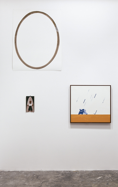 installation view: OUI we, 2014 | at The Commercial Gallery, Sydney