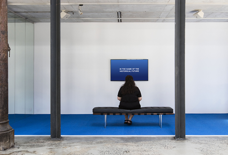 installation view: Agatha Gothe-Snape - In the name of the historical future, 2017 | The National: New Australian Art, Carriageworks, Sydney