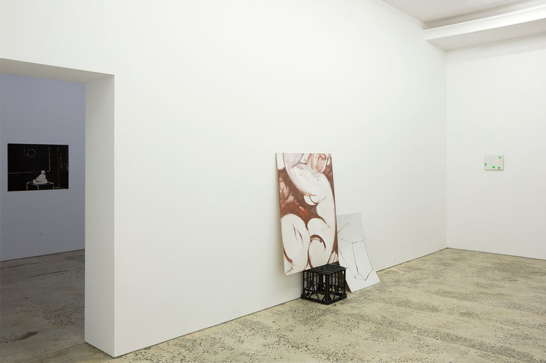 installation view: Patrick Hartigan - Stage and Anvil, 2015 | at Minerva, Sydney