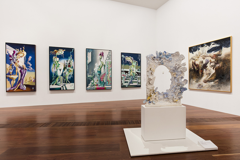 installation view: Lurid Beauty: Australian Surrealism and its Echoes, 2015 | at The National Gallery of Victoria, Melbourne